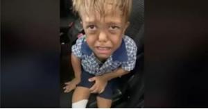 طفل يرغب في الانتحار بسبب