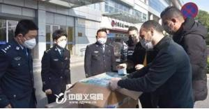 بالصور : أردنيون يتبرعون بآلاف الواقيات لمكافحة كورونا إلى الصين