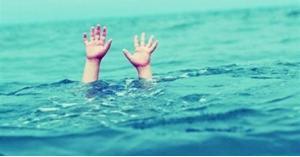 إنقاذ طفل غرق في البحر الميت