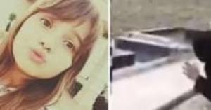 """""""نامي ياحرقة قلبي"""" .. فيديو مؤثر لأم لبنانية تشاهد قبر ابنتها عن بُعد لسبب مؤثر"""