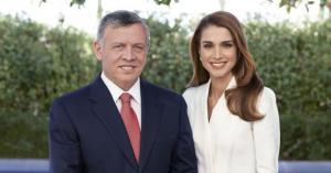 الملك والملكة يشكران مؤسس علي بابا