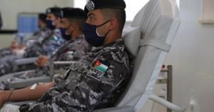 مديرية الأمن العام تنفذ حملة للتبرع بالدم