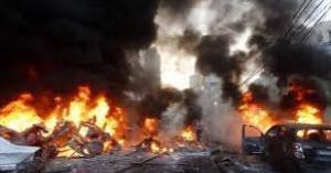 مقتل أكثر من عشرين شخصاً بانفجار صهريج مفخّخ في شمال سوريا