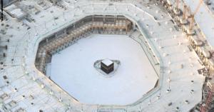 """مكة تشهد """"ظاهرة فلكية"""" رصدت فوق الكعبة المشرفة"""