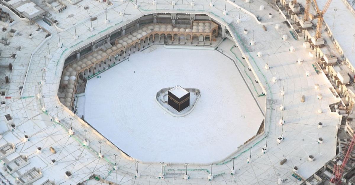 شاهدوا : دعاء ختم القرآن بالحرم المكي في زمن كورونا