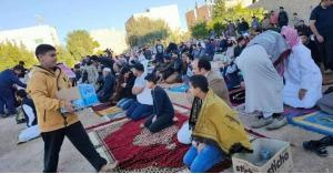 ضبط الشخص الذي نظم صلاة العيد وألقى خطبتها في محافظة معان