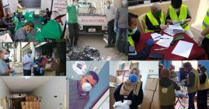 منظمة النهضة (أرض) تقدم المساعدات الإغاثيةلأكثر من 16 ألف أسرة