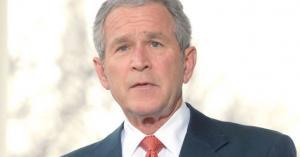 ماذا علق جورج بوش على الاحتجاجات في أمريكا؟