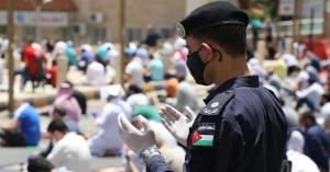مديرية الأمن العام تشكر مصلي الجمعة.. صور