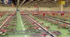 بناء مستشفى ميداني في 15 يوم بمصر.. فيديو