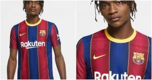 برشلونة يكشف عن قميصه الجديد بعد الخطأ المحرج