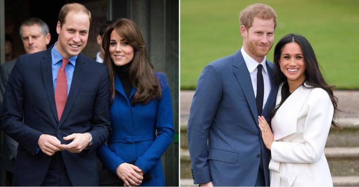 انقسام مادي بين الأميرين وليام وهاري