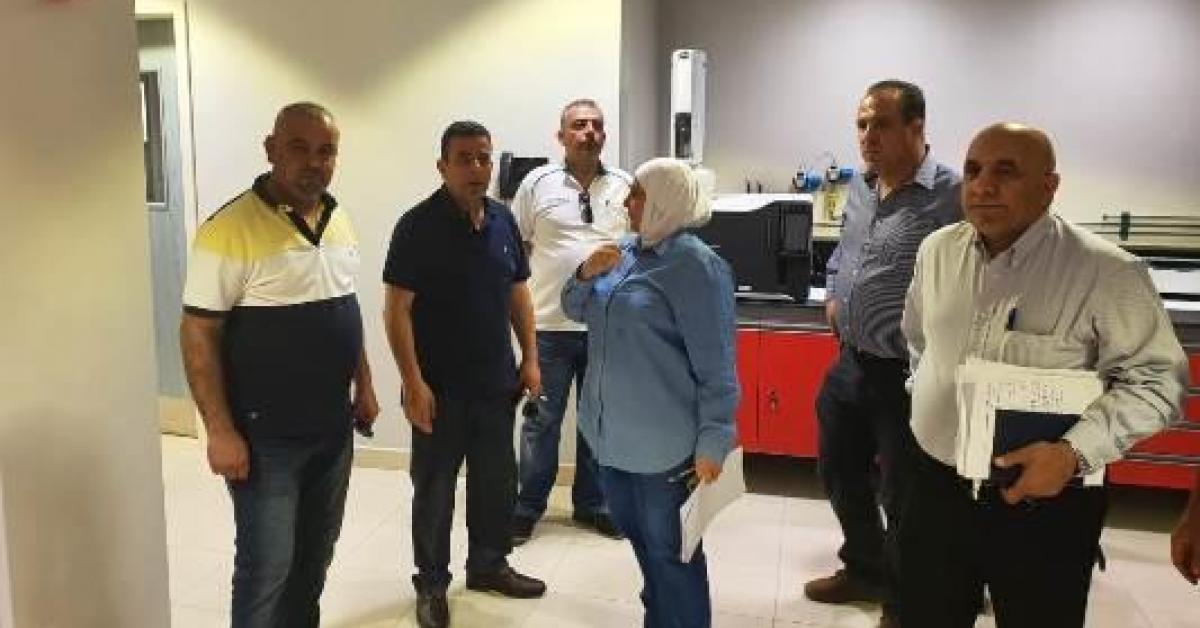 مشروع جر مياه وادي العرب في مراحله النهائية