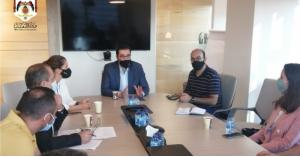 وزير النقل يتفقد مركز الاتصال (visit jordan)