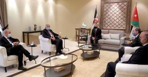 الملك يؤكد موقف الأردن تجاه القضية الفلسطينية