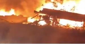 تحطم طائرة أوكرانية