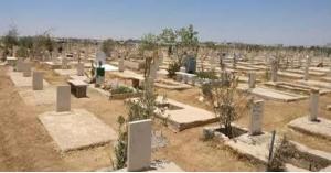 مقبرة خاصة للمتوفين بكورونا في اربد