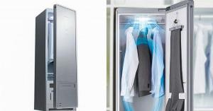 خزانة مستقبلية تغسل الملابس وتعقم الغرفة وتنقي الهواء