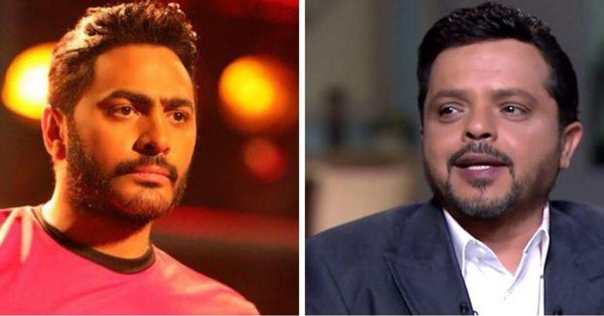 محمد هنيدي يفاجئ تامر حسني