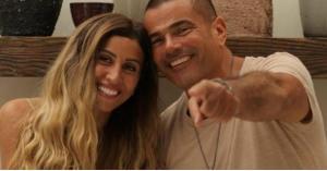 معلومات عن انفصال عمرو دياب ودينا الشربيني