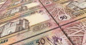 ارتفاع مديونية الأردن 2 مليار و559 مليون دينار