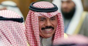 أمير الكويت يوجه رسالتين للملك سلمان والأمير تميم