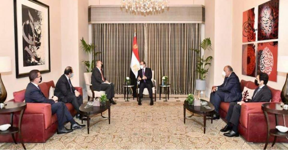 السيسي يشيد بجهود رعاية الجالية المصرية في الأردن