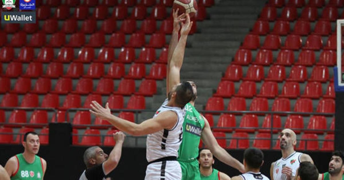 الاهلي بطلا لدوري السلة