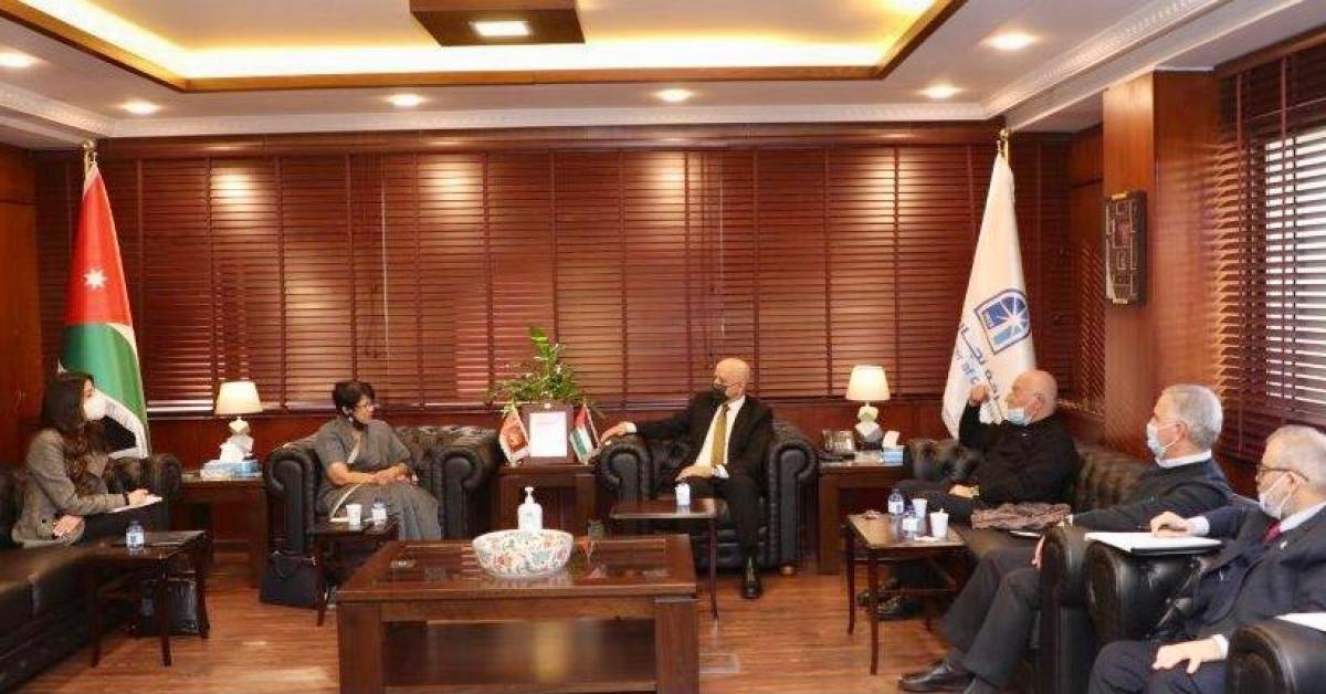 تجارة عمان تبحث تعزيز علاقات الاردن الاقتصادية مع سيرلانكا