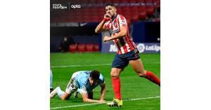 سواريز يتفوق على رونالدو في الدوري الإسباني