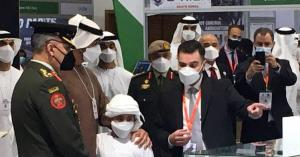 محمد بن زايد يزور جناح المركز الأردني للتصميم في ايدكس 2021