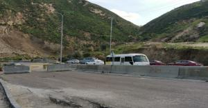وزارة الأشغال تدرس حلا جذريا لطريق رئيسي يشهد انهيارات متكررة في إربد