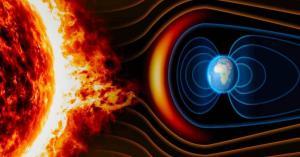 عاصفة مغناطيسية شمسية تؤثر على الأرض غدا