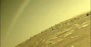 قوس قزح على المريخ يثير الحيرة والذهول