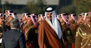 تلفزيون قطر يدعو الدول المقتدرة لمساعدة الأردن ويشيد بالتفاف الشعب حول قيادته