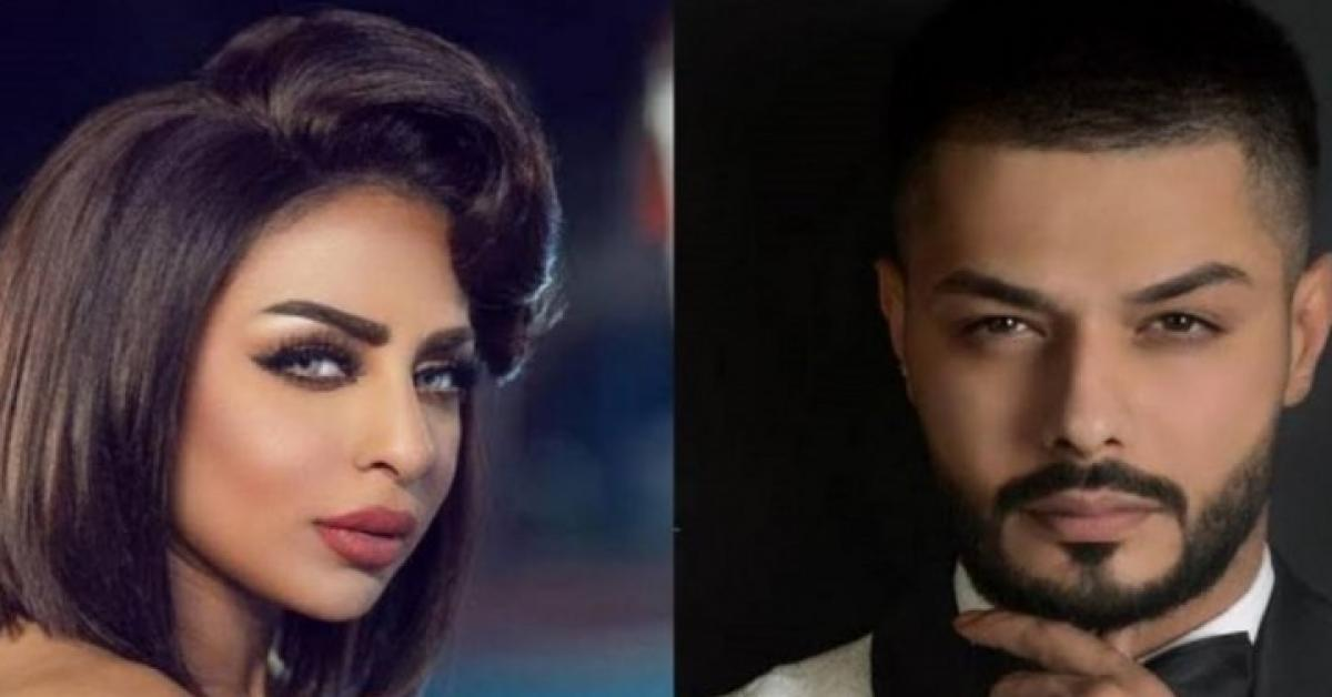 """مطرب عراقي ادعت فنانة كويتية أنها زوجته يعلن """"طلاقها بالثلاثة"""" في لايف مباشر """"فيديو"""""""