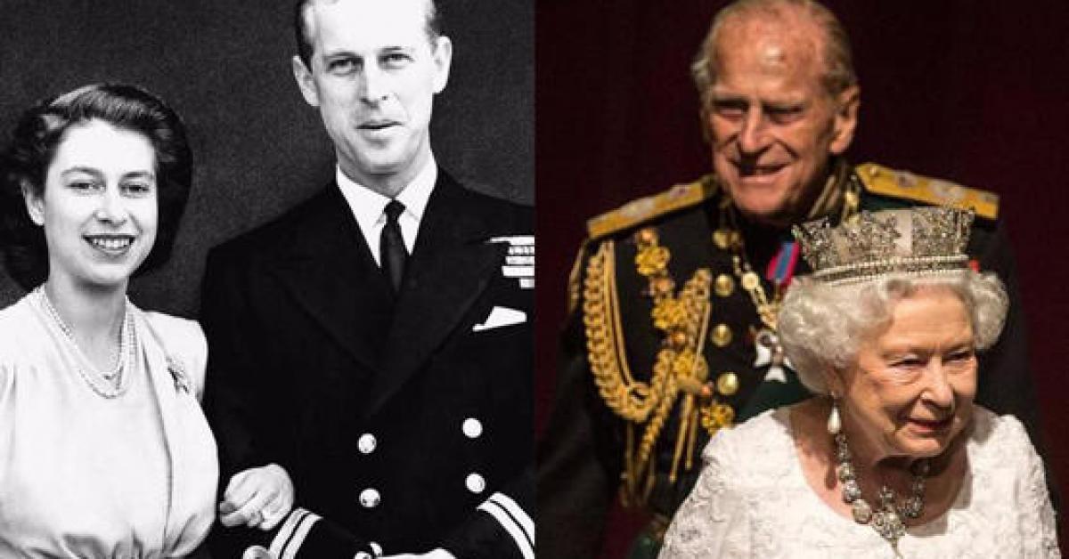 وفاة زوج الملكة إليزابيث