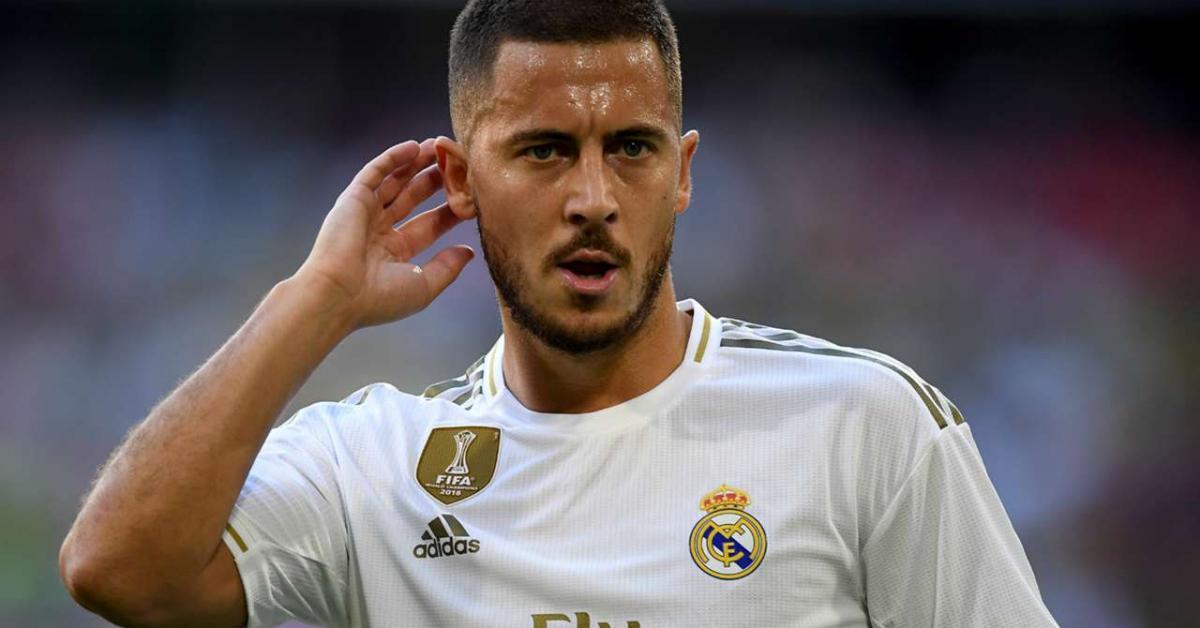 هازارد يعتذر لجماهير ريال مدريد