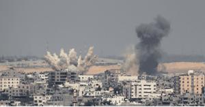 استشهاد 9 فلسطينيين بينهم 3 أطفال في قصف إسرائيلي على قطاع غزة