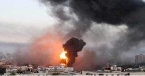 الاحتلال الإسرائيلي يشن غارات عنيفة على مقرات أمنية في غزة