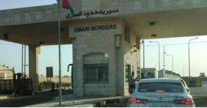 654 مركبة تعبر منفذ العمري الحدودي