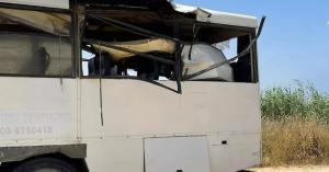 استهداف حافلة نقل جنود اسرائيلية بصاروخ موجه