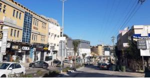 إضراب شامل في أم الفحم في فلسطين