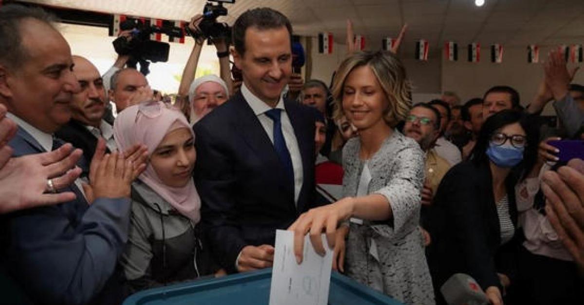 كلمة من الأسد للسوريين