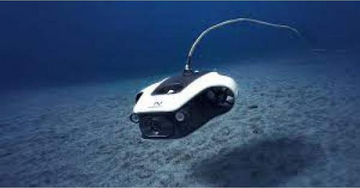 أول درون لاسلكية تعمل تحت الماء