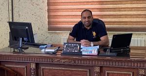 الرائد احمد زريقات مبارك الترفيع