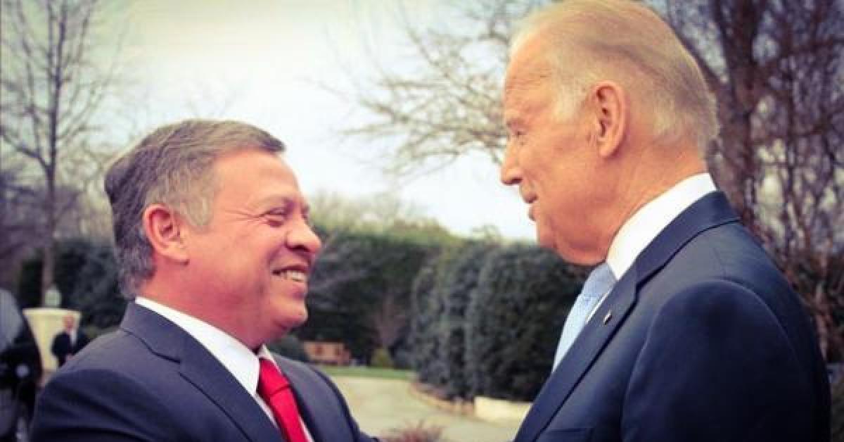 واشنطن بوست: الملك أول زعيم عربي يلتقي بايدن في البيت الأبيض