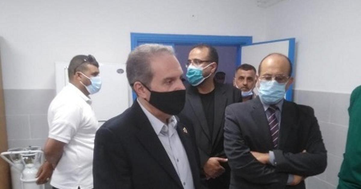 الهواري يتفقد الخدمات الصحية الحكومية بالمفرق