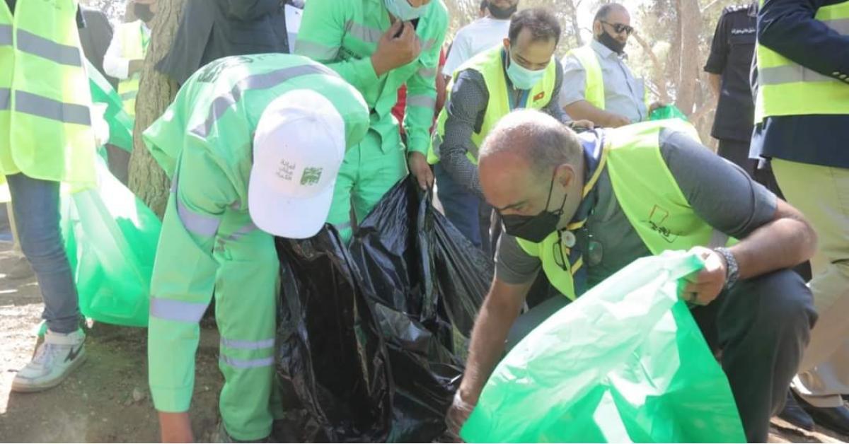 الخصاونة يرعى إطلاق الحملة الوطنية للنظافة العامة