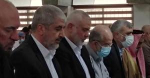 خالد مشعل يبكي في عمان